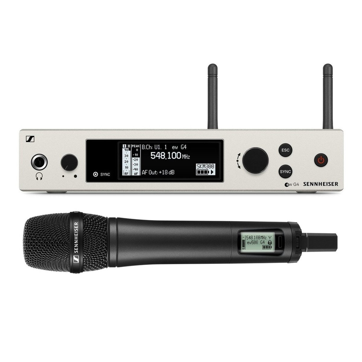 Klangfein Hannover - Sennheiser EW 500-965 | Funkmikrofon | Handheld Mikrofon | AW+ | Messe | Tagung | Mieten