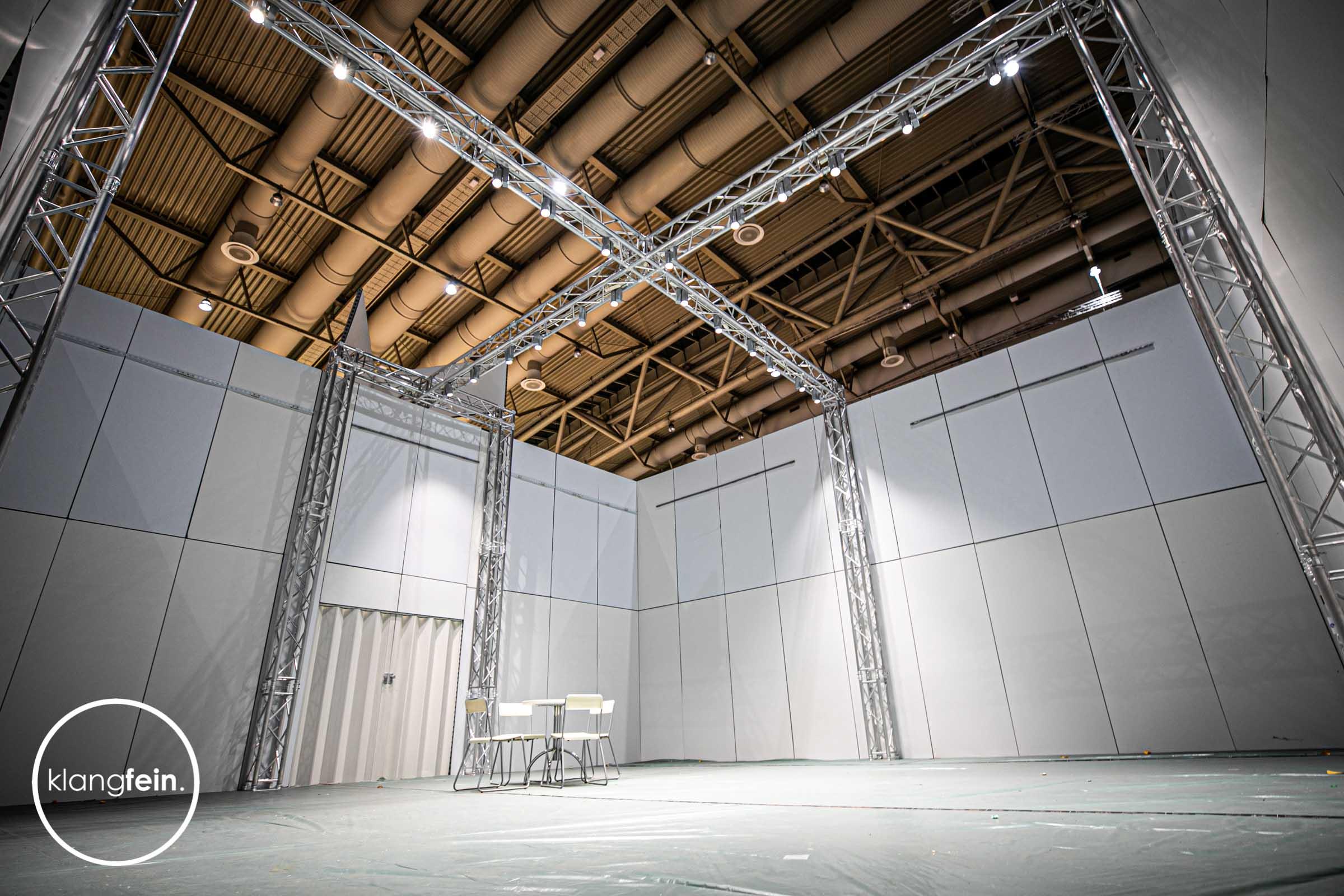 Klangfein - Messebau | Messebauer | Messestandbau | Messedesign | Entwurf | Montage | Beratung | Layout | Anfertigung | Hannover